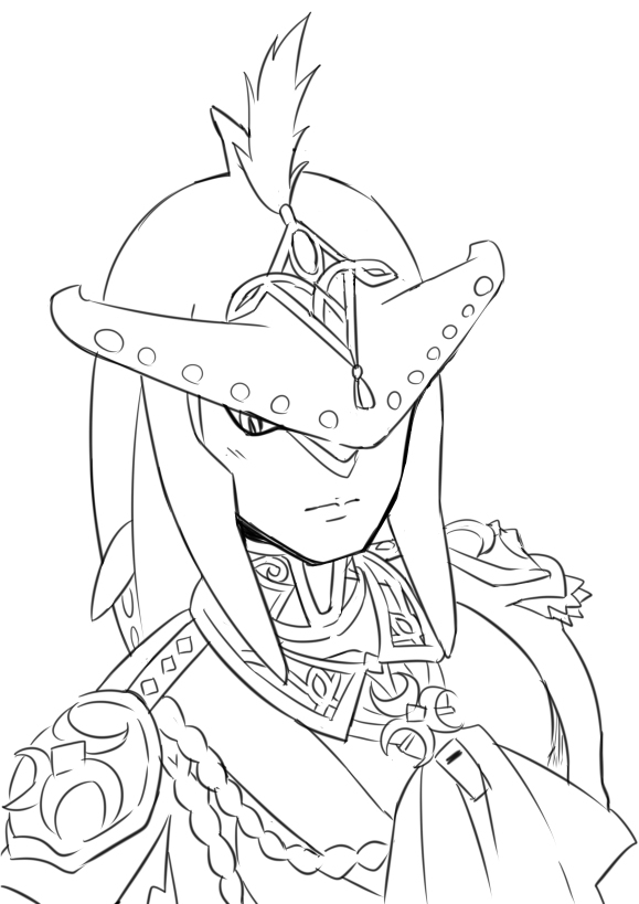 This is an image of Clever breath of the wild coloring pages