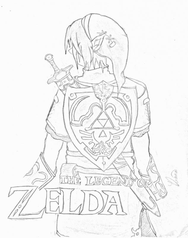 634x800 Twilight Princess Link Legend Of Zelda Fanart