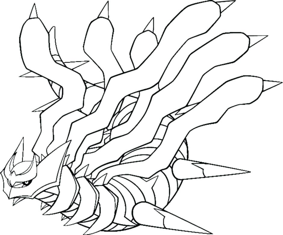940x781 Pokemon Coloring Pages Legendary Page
