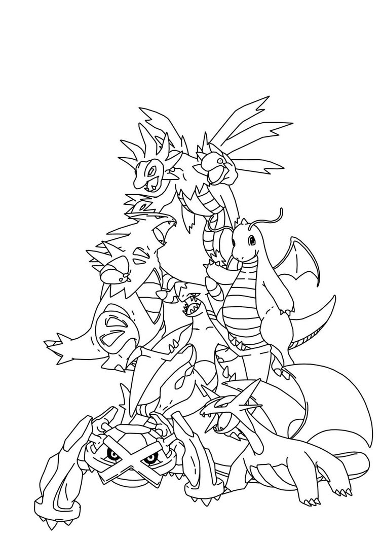 Kleurplaten Pokemon Yveltal Legendary Pokemon Drawing At Getdrawings Com Free For