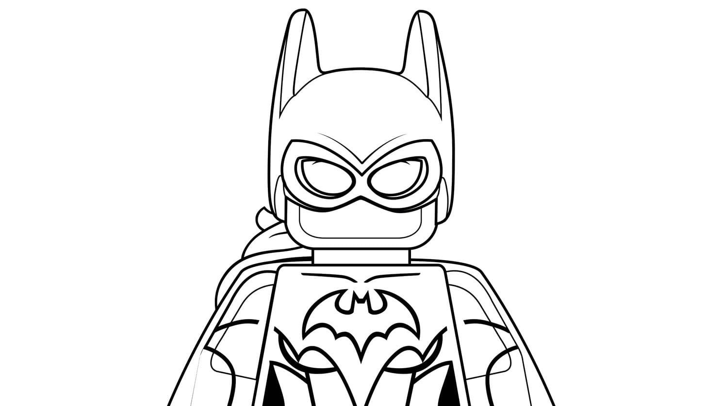 Lego Batman Drawing