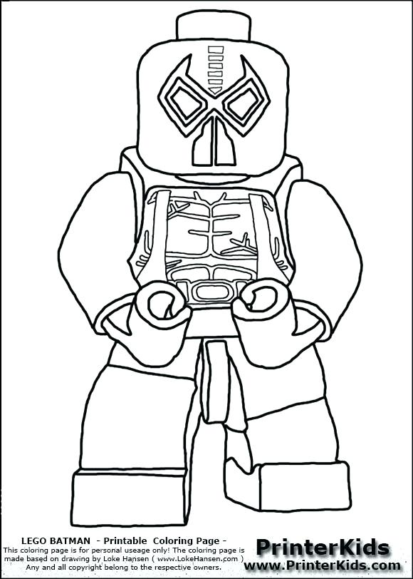 580x812 Luxury Coloring Pages Of Lego Batman Kids To Print Free The Movi