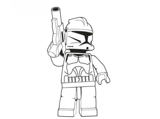 530x395 Lego Star Wars Coloring Pages