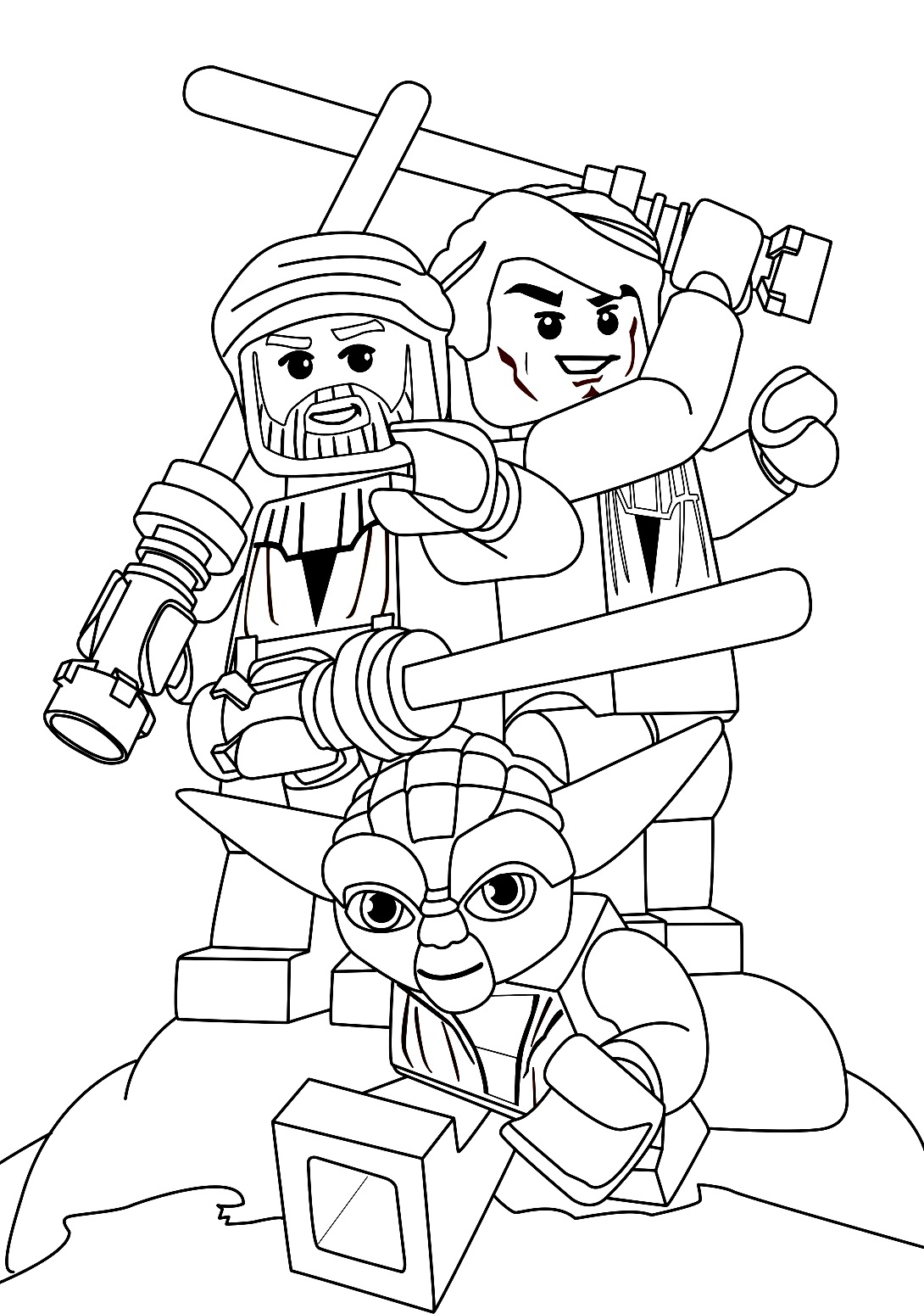 1090x1549 Lego Star Wars Coloring Pages