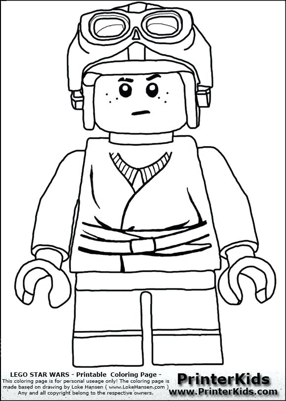 580x812 Lego Star Wars Coloring Pages To Print This Printing Page