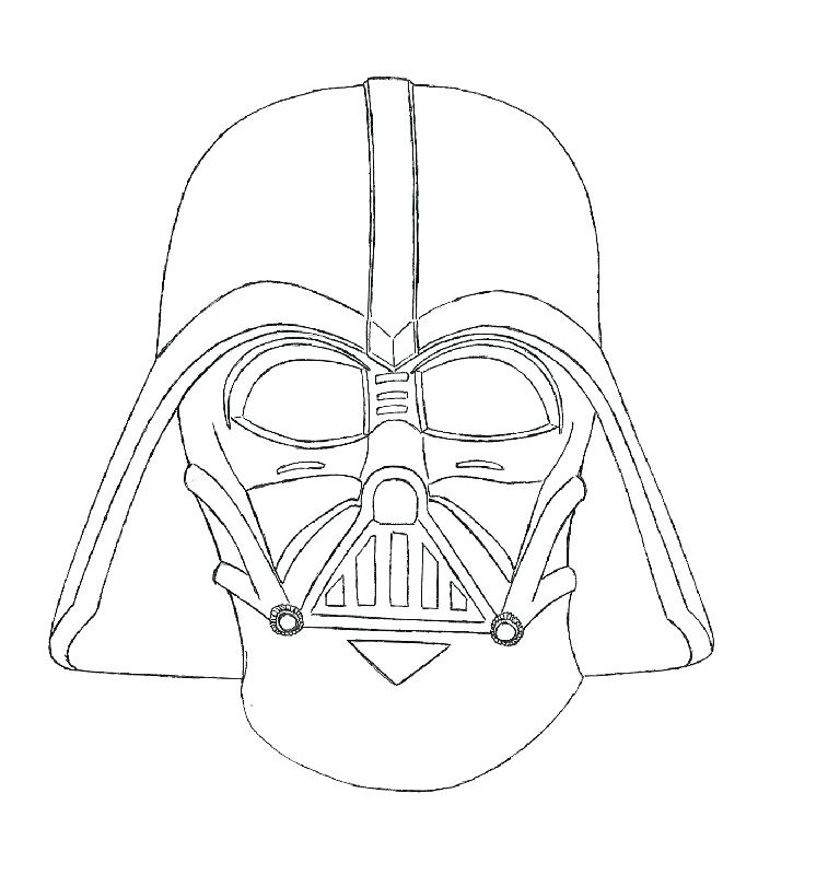 757x800 New Star Wars Coloring Pages Darth Vader Online Angry Birds