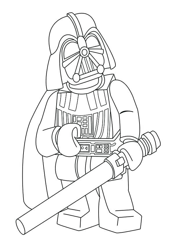 600x849 Star Wars Coloring Pages Darth Vader Face Coloring Page For Kids