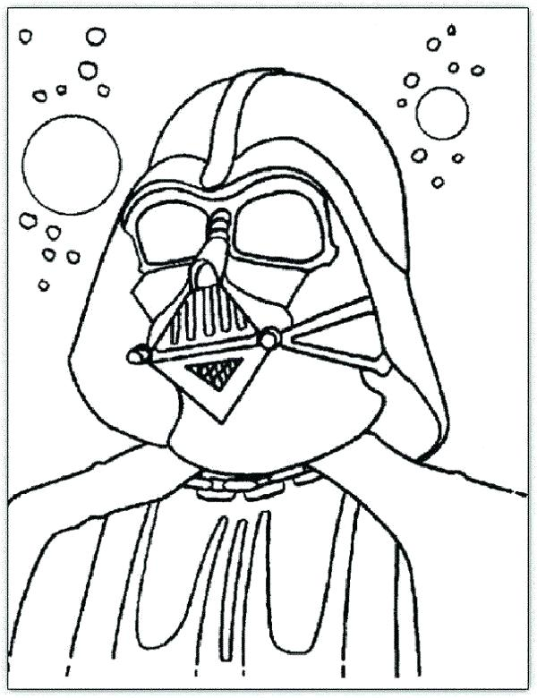 600x780 Darth Vader Coloring Page Coloring Pages Star Wars Coloring Pages