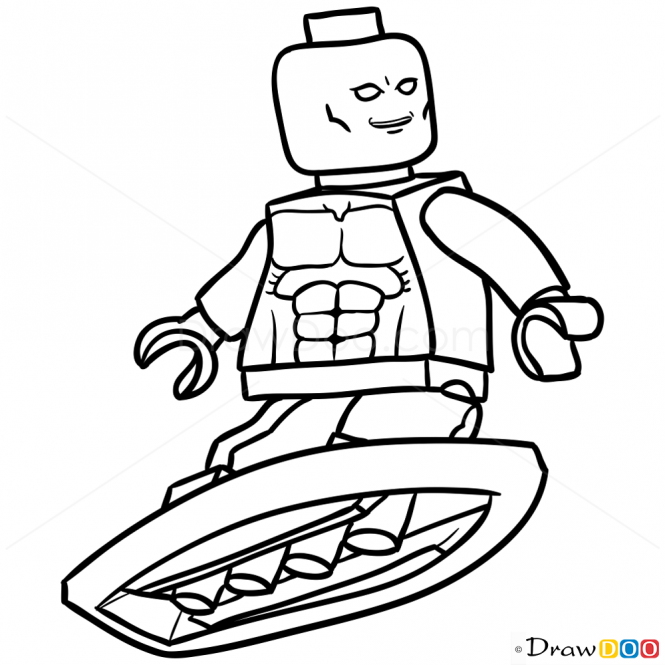 665x665 How To Draw Silver Surfer, Lego Super Heroes Cool Stuff
