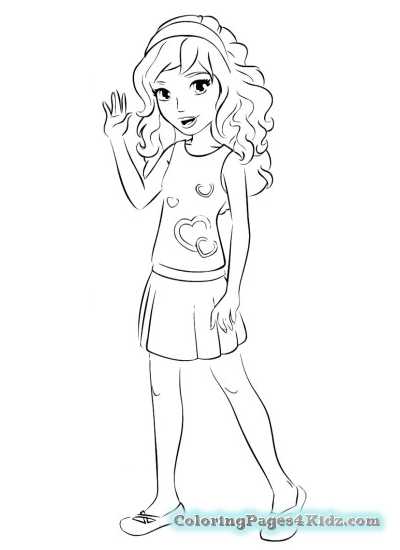 400x550 Lego Friends Bella Coloring Pages Coloring Pages For Kids