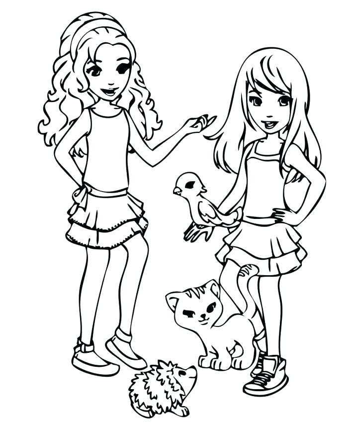 710x850 Lego Friends Coloring Pages Friend Coloring Pages Printable