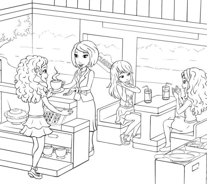 678x600 Lego Friends Colouring Lego Friends Coloring Pages For Girls