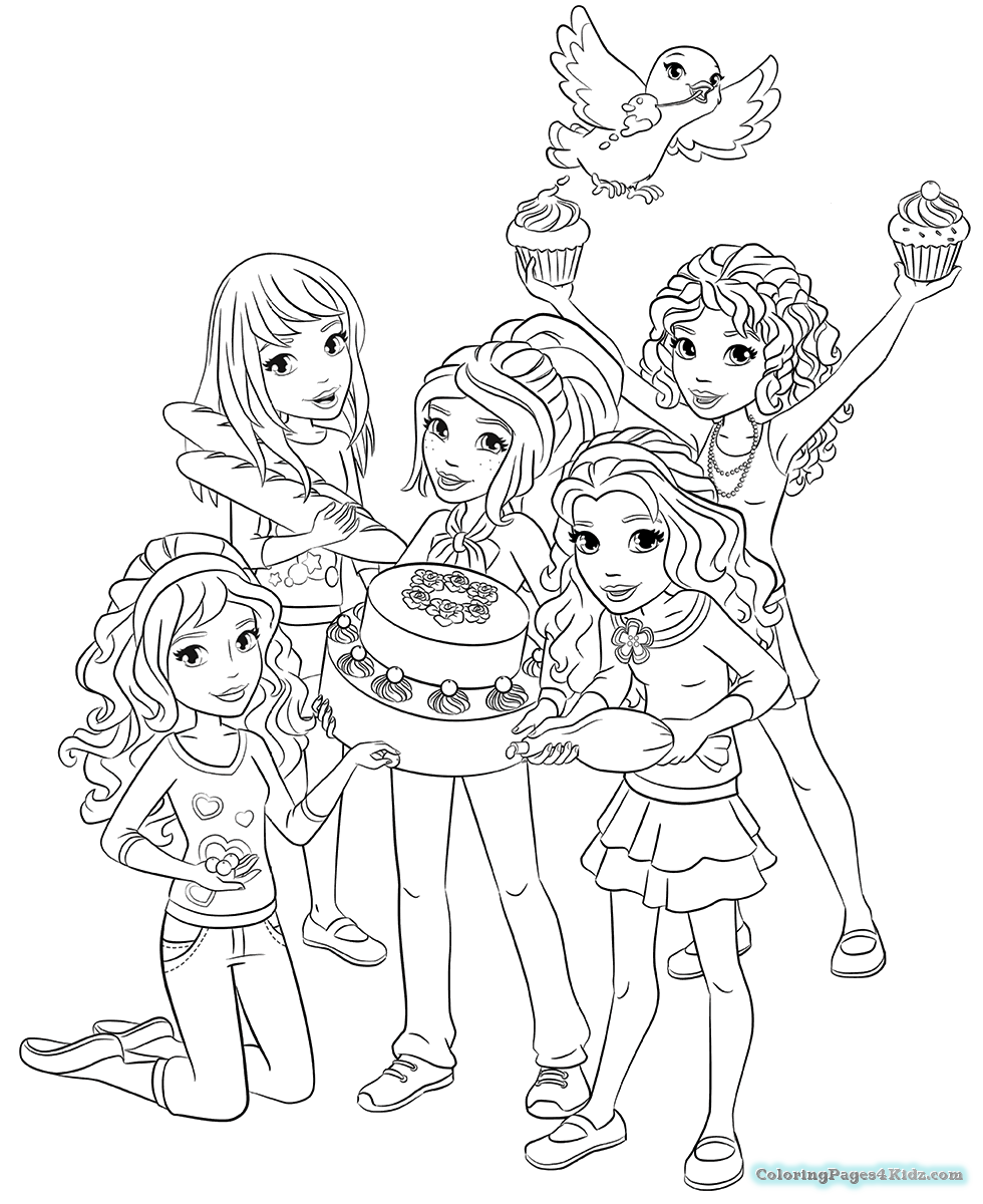 980x1200 Lego Friends Pet Coloring Pages Coloring Pages For Kids