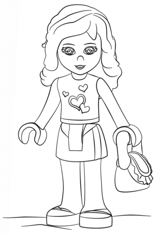 333x480 Lego Friends Coloring Pages Free Coloring Pages