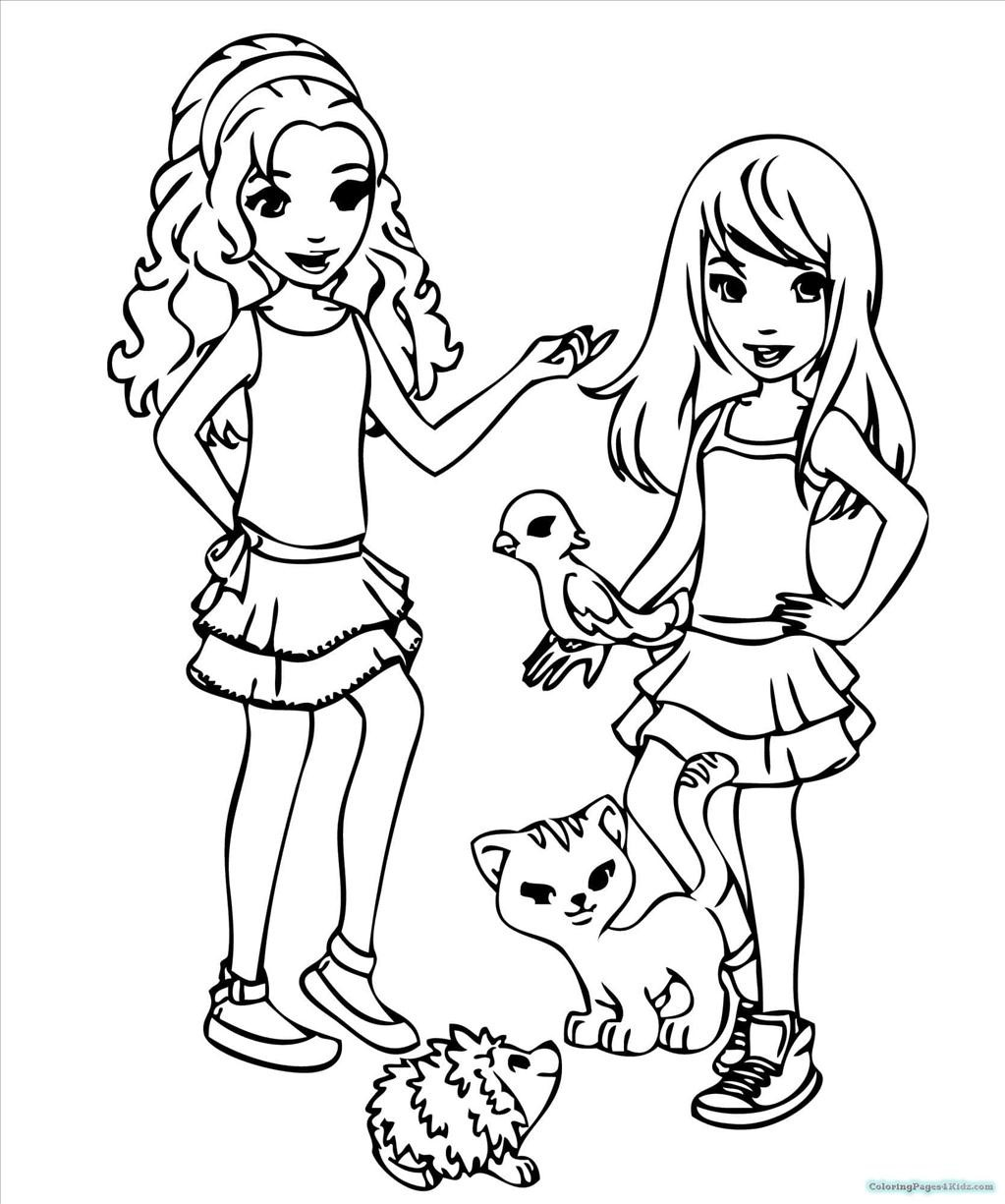 1023x1225 Top Lego Friends Coloring Pages Wall Picture Unknown Resolutions