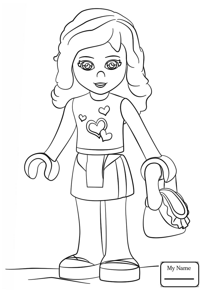 lego friends drawing at getdrawings  free download