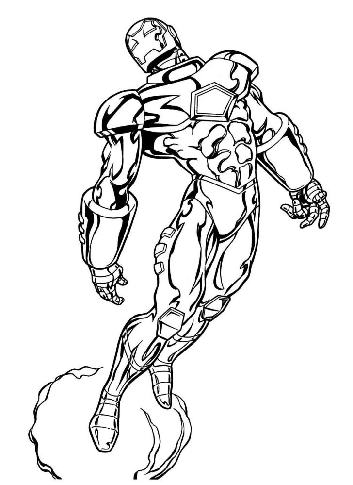 728x999 Coloring Fantastic Marvel Comic Book Coloring Pages