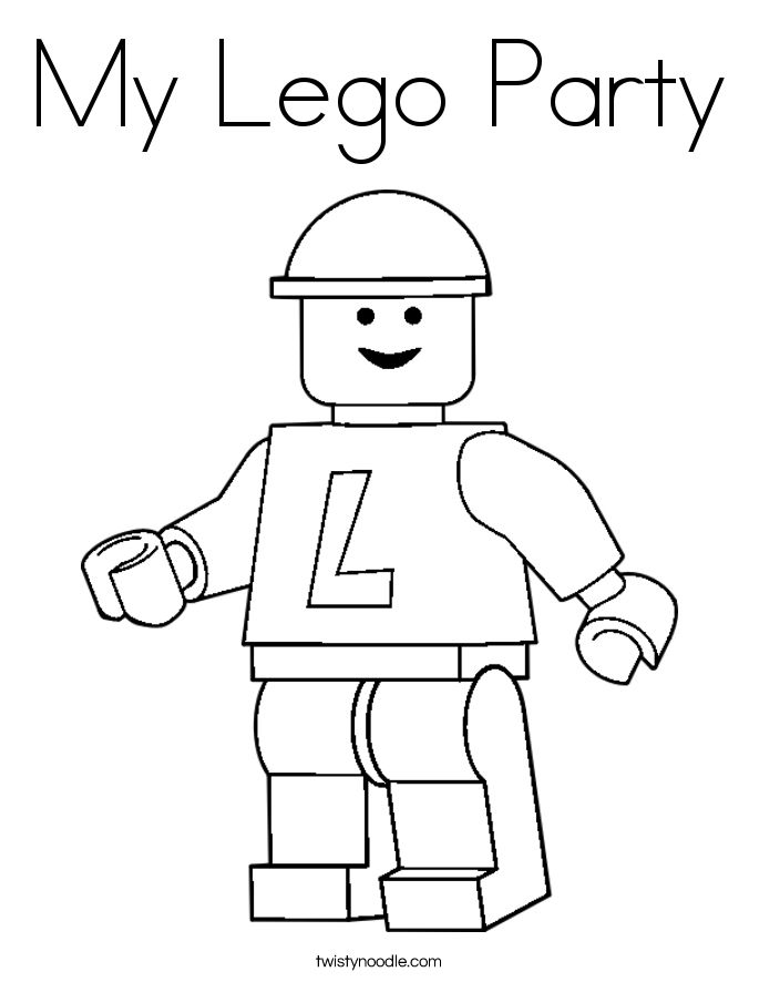 image relating to Printable Lego Coloring Pages named Lego Person Drawing at  Totally free for individual seek the services of