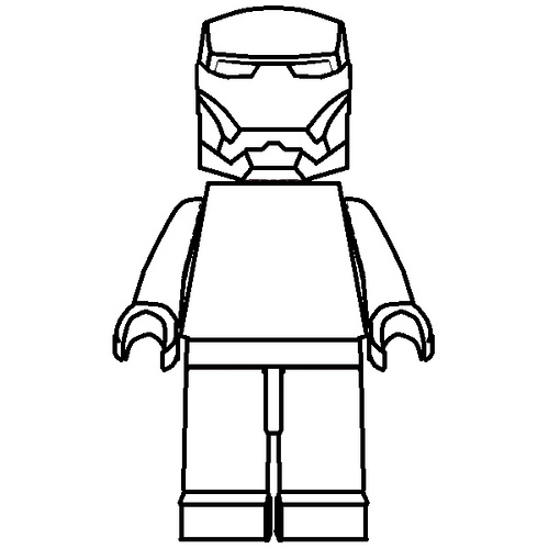500x500 Pictures Lego Iron Man Drawing,