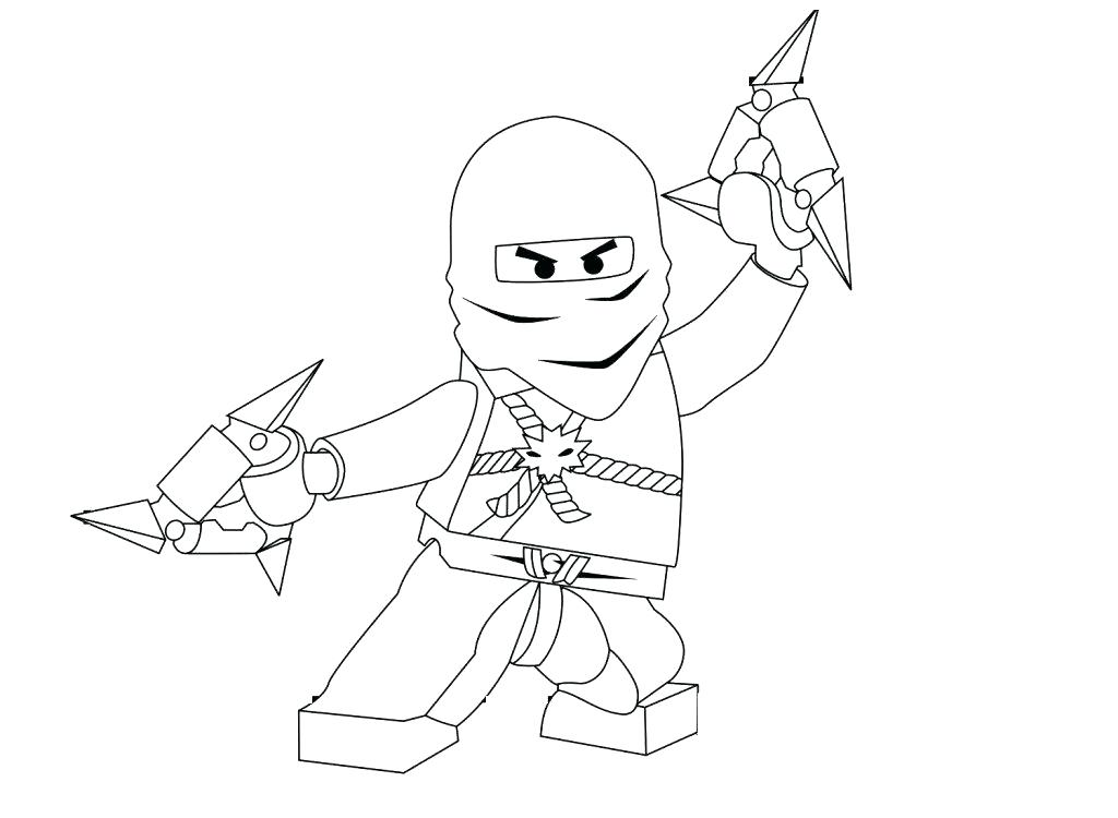 Lego Ninjago Drawing