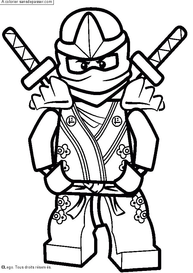 650x919 Lego Ninjago Coloriage 8 On With HD Resolution Pixels