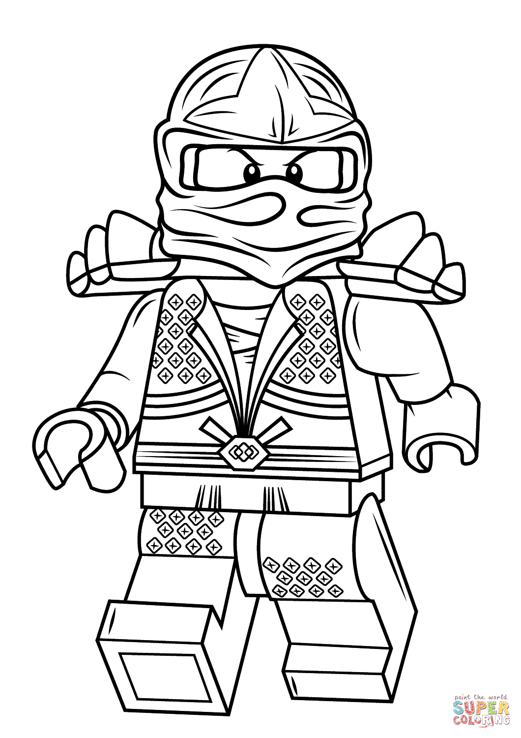 Lego Ninjago Drawing at GetDrawings.com | Free for personal use Lego ...