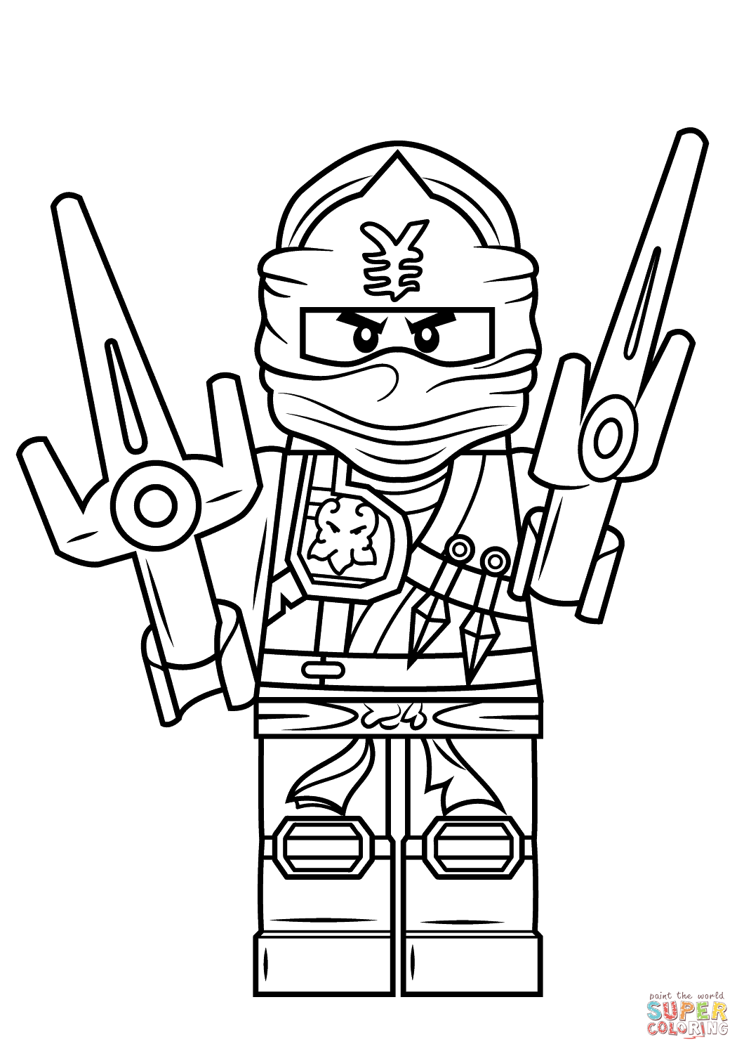 Lego ninjago drawing at free for personal use lego ninjago drawing of your choice - Lego ninjago a colorier ...