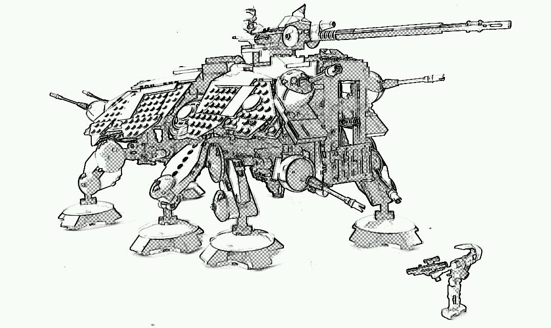Lego Star Wars Drawing