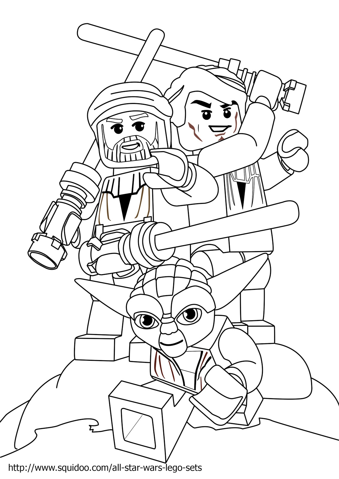 1131x1600 Lego Star Wars Yoda Coloring Pages Original Size 1131 X 1600 I