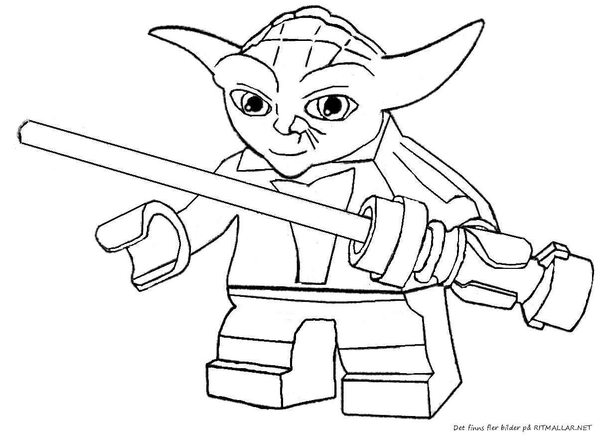 1200x872 Simple Lego Star Wars Master Yoda Coloring Page By