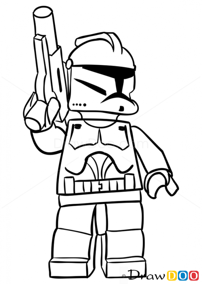 665x934 Drawing Clone Trooper