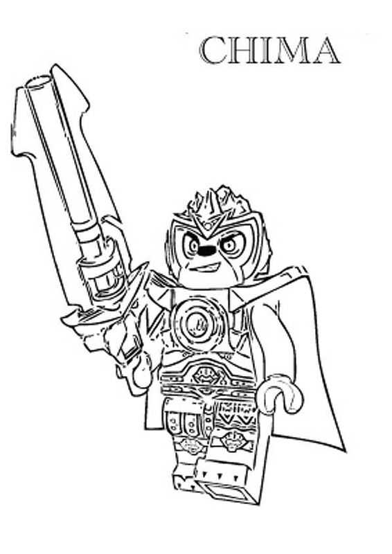 566x800 Lego Chima Coloring Pages 7 Lovey Lego Chima, Lego