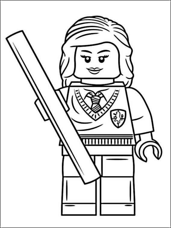 568x758 Lego Harry Potter Coloring Pages 5 Coloring Is Therapeutic