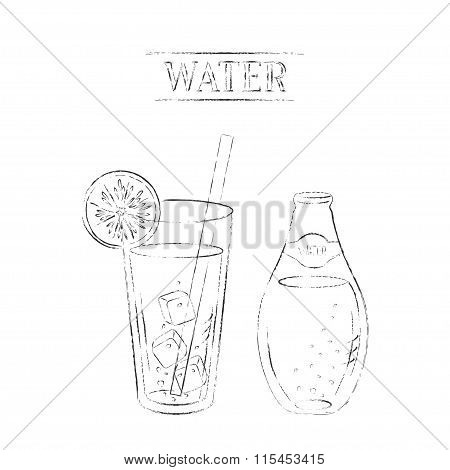 450x470 Light Charcoal Sketch Mineral Vector Amp Photo Bigstock