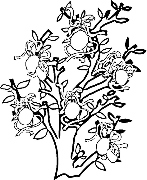 473x580 Lemon Tree Coloring Page Happy Lemon Month! Lemon