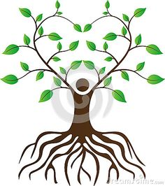236x266 Vector Friendship Connection Tree Image. Hands On Hand Tree