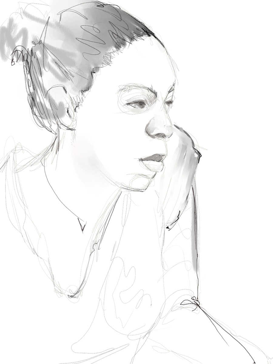 900x1200 Drawing From The Model 60 Minutes