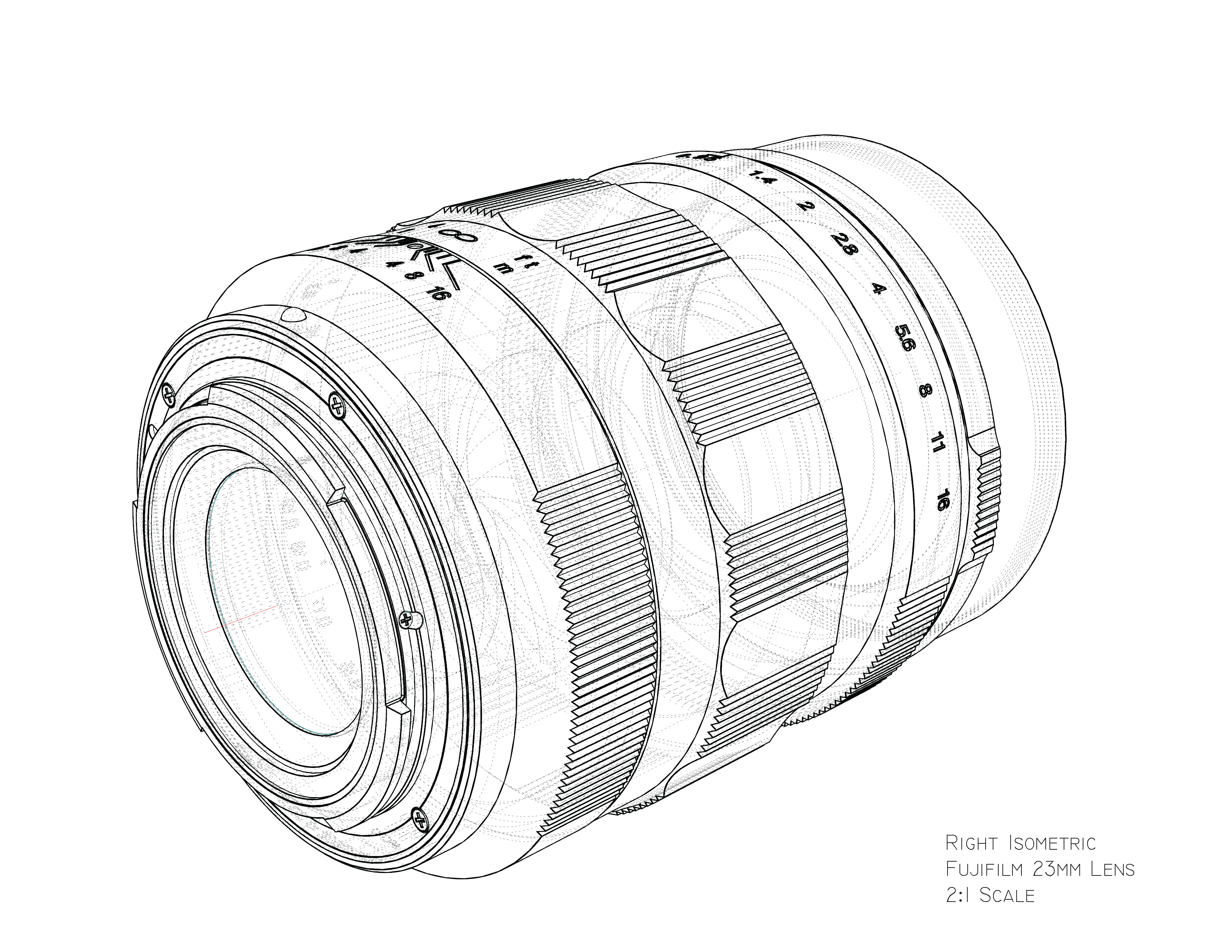 3300x2550 Fuji Lens Line Drawing My Blog