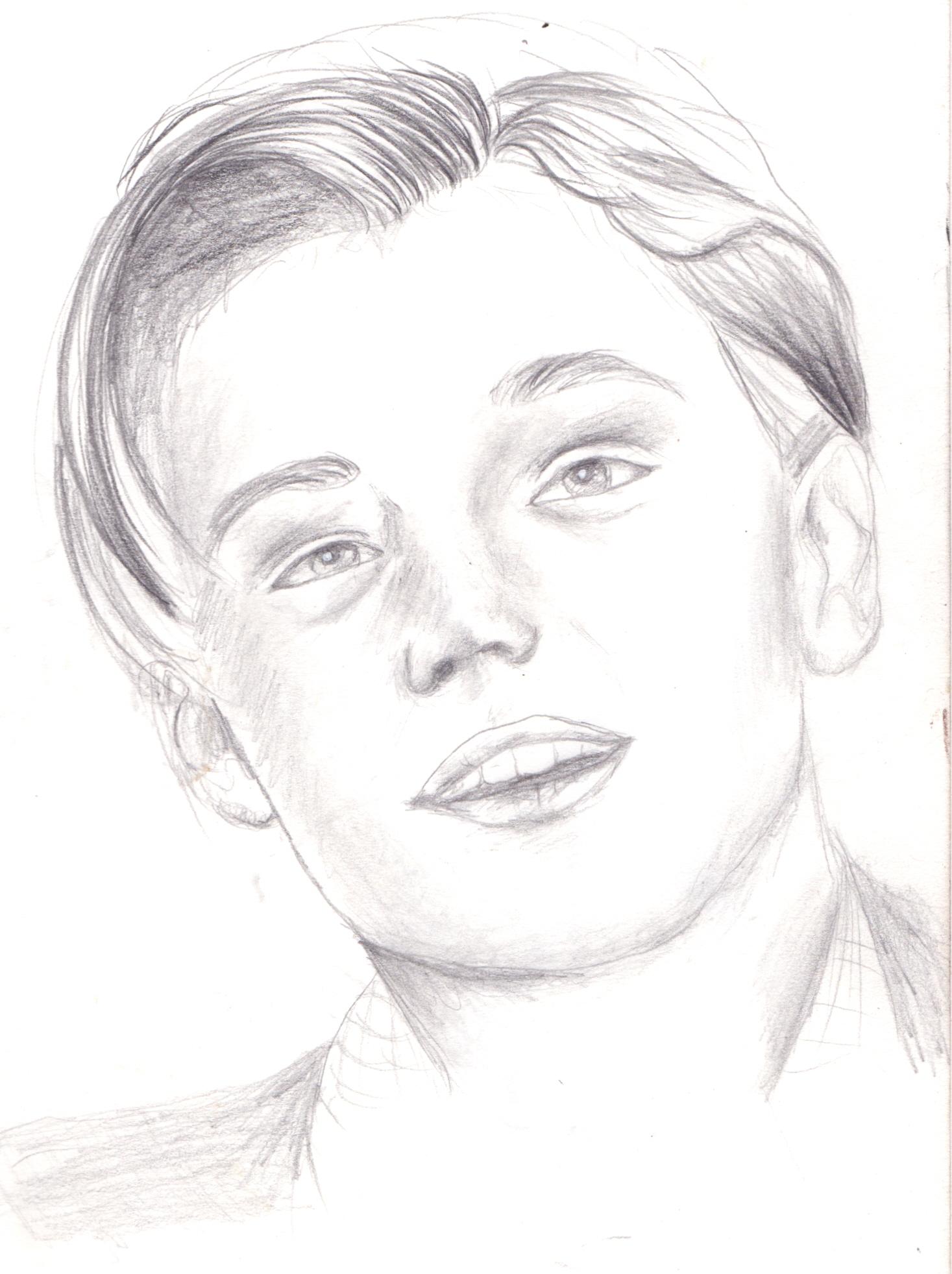 1467x1963 Leonardo Dicaprio Drawing