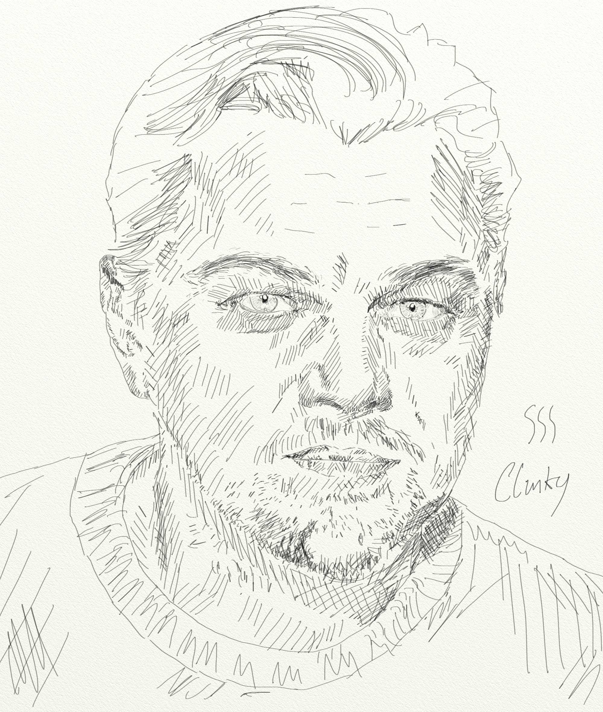 2000x2361 Sketch Portrait Series