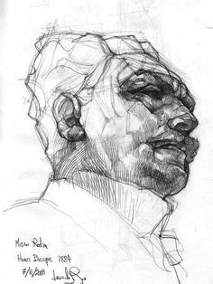 236x314 Gesture Drawing Portrait Qualities Of Line Drawing