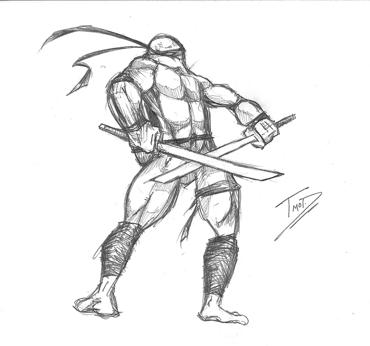 720x673 Random Ninja Turtle Sketches Because I Was Bored