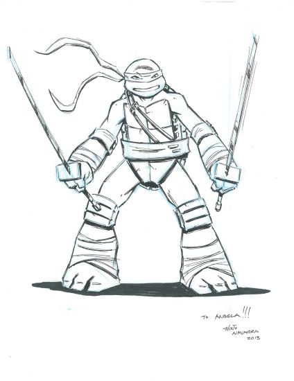 424x550 Teenage Mutant Ninja Turtles Drawings Teenage Mutant Ninja Turtles