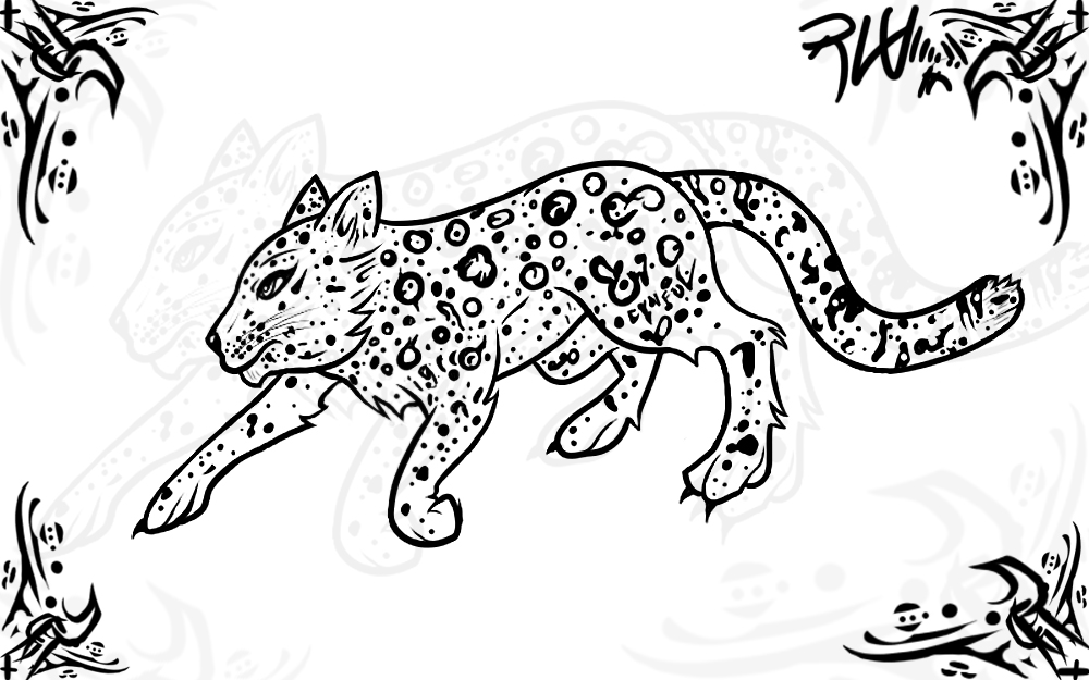 1000x625 Cartoon Snow Leopard Face Snow Leopard Tattoo Drawing Cartoon