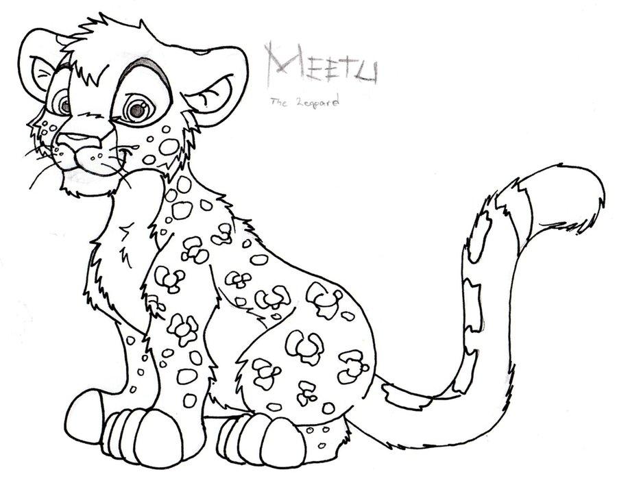 900x708 Leopard Cub By Jumikazu