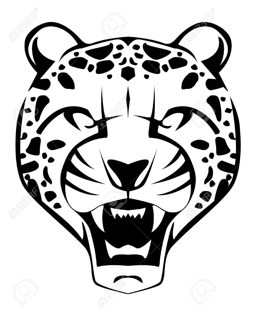 1084x1300 Leopard Face Drawing Easy Drawn Leopard Face