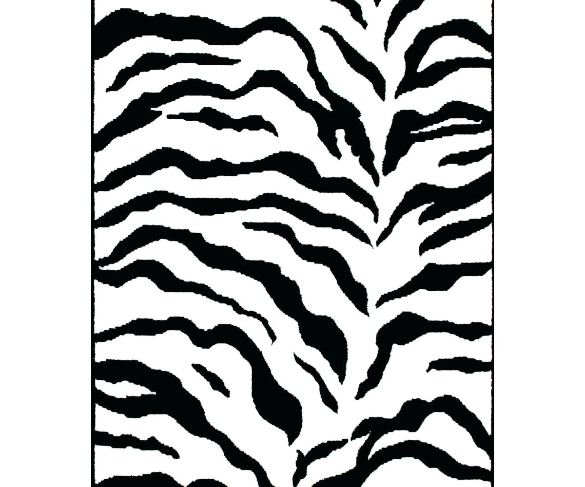 1200x1000 Leopard Area Rug Runner Decoration Black And White Cheetah Zebra