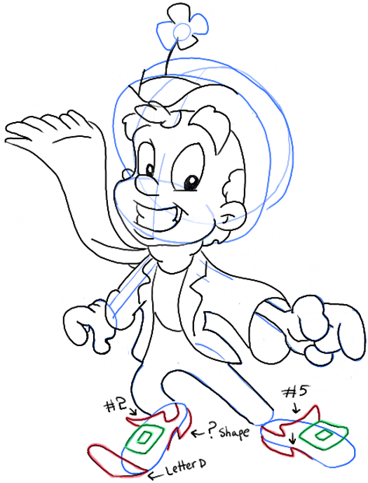 525x688 How To Draw Lucky Charms Leprechaun For Saint Patricks Day How