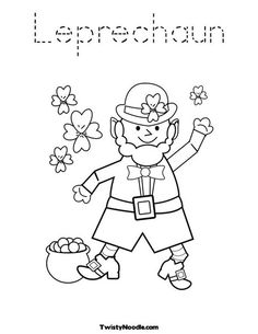 236x305 I Caught A Leprechaun! Free Fill In Blank Printable Story