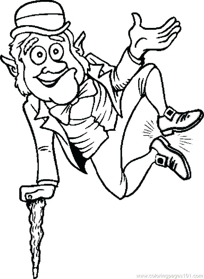 650x890 Here Are Leprechaun Coloring Pages Pictures A Leprechaun And His